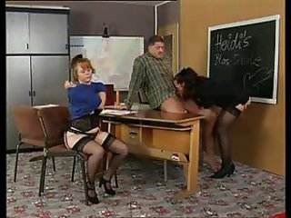 History Teacher Instructs Her Students On Sex