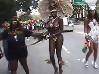 AMAZING BODY AT CARIBBEAN DAY FESTIVAL