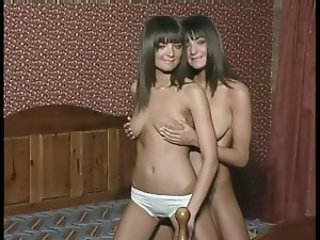 Very Sexy Teen Twins Natasha and Pamela