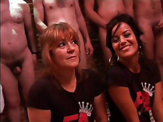 Bukkake Gangbang Mature Old and Young Teen
