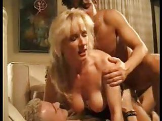 Double Penetration European Mom Threesome