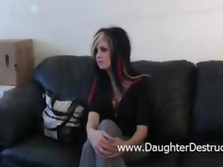 Amateur Anal First Time Goth Teen