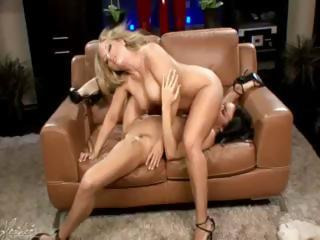 Heather Summers Gets A Good Lickin' From Tiffany