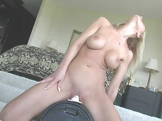 Big Tits Machine MILF Solo