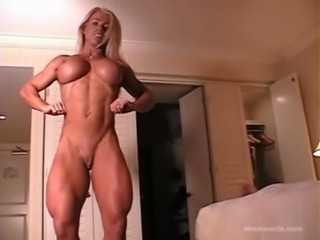 Big Tits MILF Muscled Silicone Tits