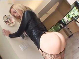 Amazing Ass Fishnet MILF Pornstar