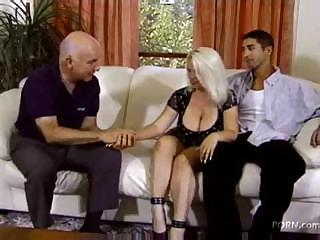 Big Tits Cuckold MILF Natural Wife