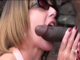 Amateur Beach Blowjob Cuckold Interracial Outdoor Wife