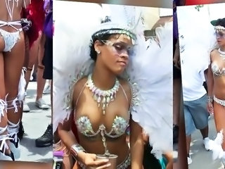 Rihanna at Barbados Festival 2013
