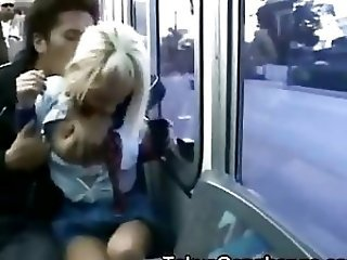 Bus Forced Public Student Teen