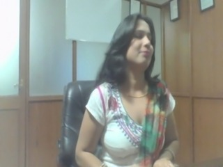 Amateur Indian MILF Office