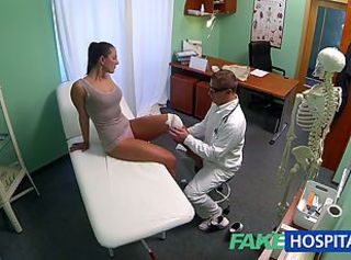 FakeHospital Dirty milf sex addict gets fucked _: hidden camera spycam doctor voyeur