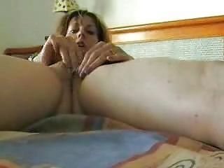 Amateur Milf Homemade Solo Self Fingering Masturbation Tape