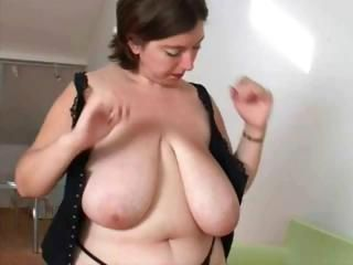 BBW Big Tits Mature Natural SaggyTits