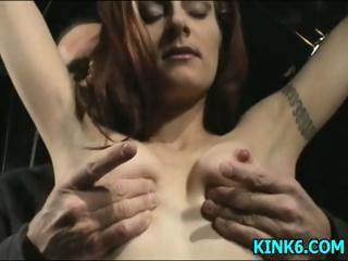 Labia abused by Mr.Rick