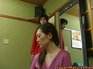 Asian Cute Hairy Japanese Mature