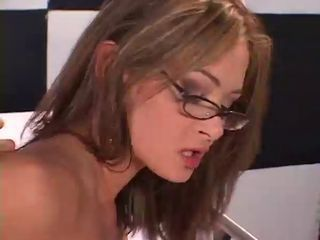 Amazing Doctor Glasses MILF Pornstar