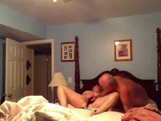 Dildo Old and Young Wife