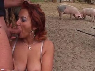 Blowjob Farm Mature