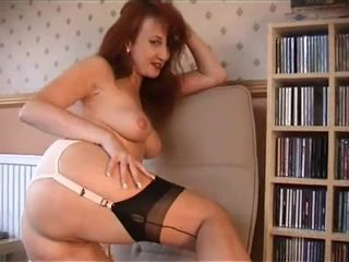 Red in FF nylons