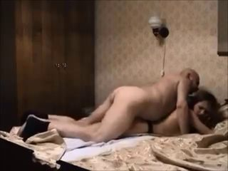 Daddy  Old and Young Redhead Teen Voyeur