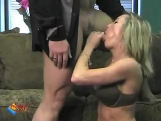 Brandi Love is a beautiful blonde chick who gets naked and fucked on her cam show