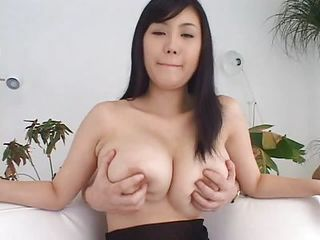 He Spends The Video Fondling Her Big Natural Tits