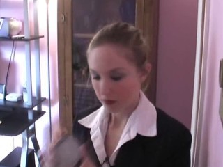 Amateur Secretary Teen