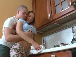 Girlfriend Kitchen Teen