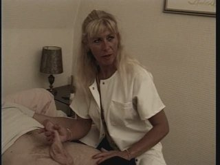 European French Handjob Mature Nurse Uniform