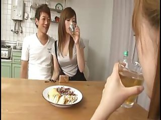 Asian Girlfriend Japanese Kitchen