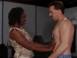 Ebony Interracial MILF