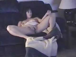 Wife Home Alone Having Fun ! Hidden Cam