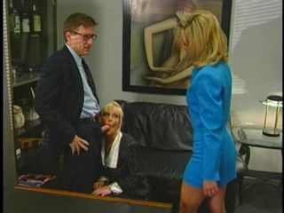 Blonde Blowjob MILF Threesome Vintage
