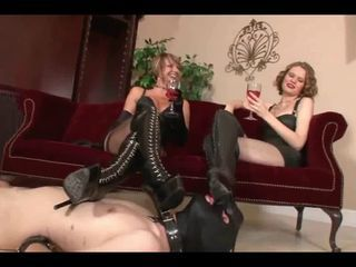 boot cleaner for the mistress...