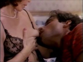 Lingerie Mom Nipples Old and Young Vintage