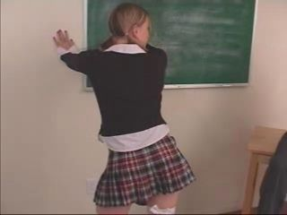 Spanking Student Teacher Teen