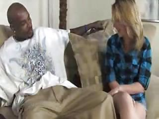 Blonde Sucks Black Dick For R...