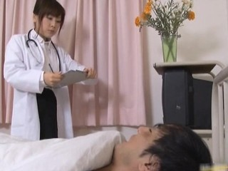 Japanese Female Doctor Gets Some Hot Sex Part3