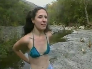 Amateur Outdoor Skinny Small Tits Teen