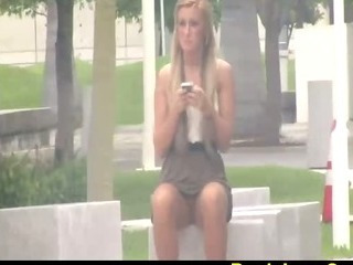 Outdoor Public Teen Upskirt