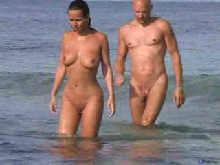 Beach Nudist Outdoor Swingers Voyeur Wife