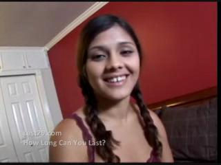 Latina In Pigtails