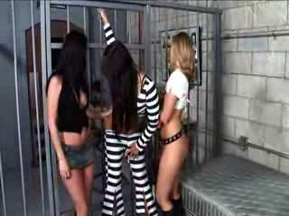 Babe Groupsex Prison Uniform