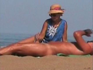 Beach Handjob Outdoor Voyeur Wife