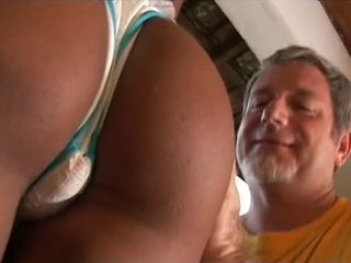 Ass Daddy Interracial Latina Old and Young Panty