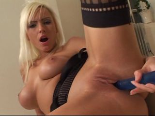 Two blonde maids and a dildo ...