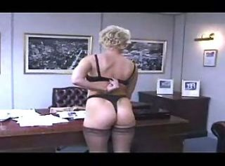Ass British European Lesbian Lingerie MILF Office Secretary Stockings