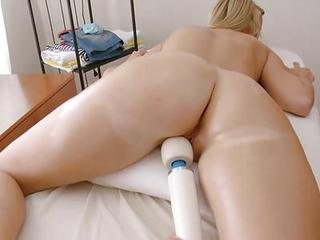 Ass Massage Oiled Teen Toy