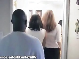 Interracial Ffm Threesome Action
